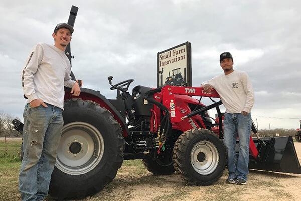 Wyatt Muzny Marcus Nash Small Farm Innovations farm equipment dealers